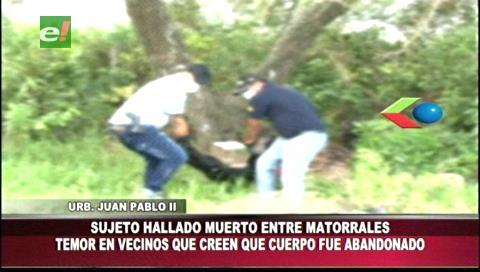 Warnes: Encuentran el cuerpo de un hombre en descomposición