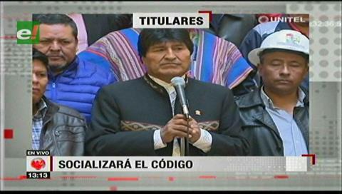 Video titulares de noticias de TV – Bolivia, mediodía del lunes 15 de enero de 2018