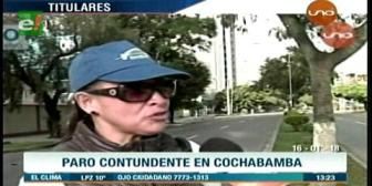 Video titulares de noticias de TV – Bolivia, mediodía del martes 16 de enero de 2018