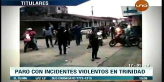 Video titulares de noticias de TV – Bolivia, mediodía del miércoles 17 de enero de 2018