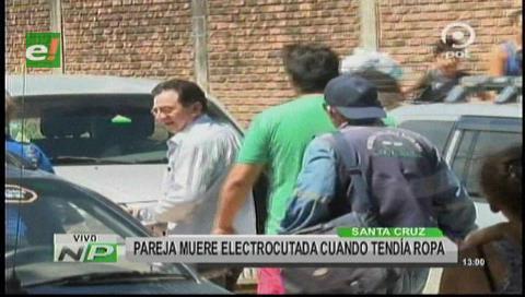 Santa Cruz: Pareja muere electrocutada al colgar ropa en un cable
