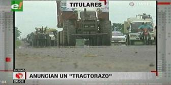 Video titulares de noticias de TV – Bolivia, noche del jueves 18 de enero de 2018