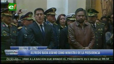 Rada y Zabaleta ingresan al gabinete; Evo ratifica al resto incluida la cuestionada Campero (actualizada)