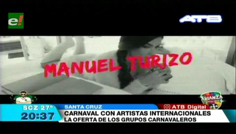 Artistas internacionales amenizarán el Carnaval cruceño