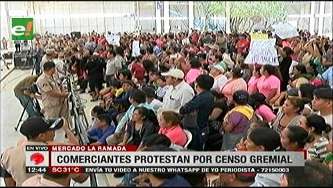 Comerciantes de La Ramada cuestionan el censo gremial, exigen una auditoría