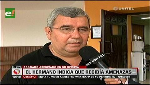 Afirman que Julio César Herrera recibía amenazas por algunos casos