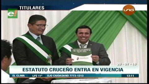 Video titulares de noticias de TV – Bolivia, mediodía del lunes 29 de enero de 2018