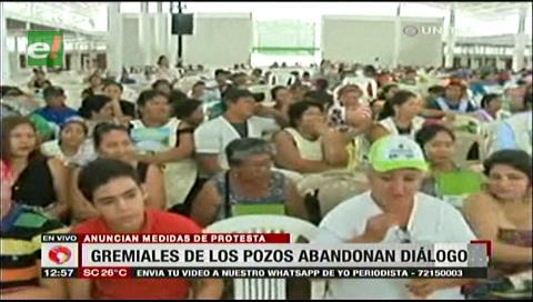 Nueve asociaciones de gremiales de Los Pozos abandonaron sesión del Concejo
