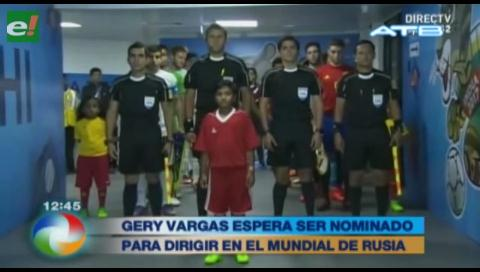 Esperan que árbitro Gery sea nominado para dirigir el Mundial de Rusia