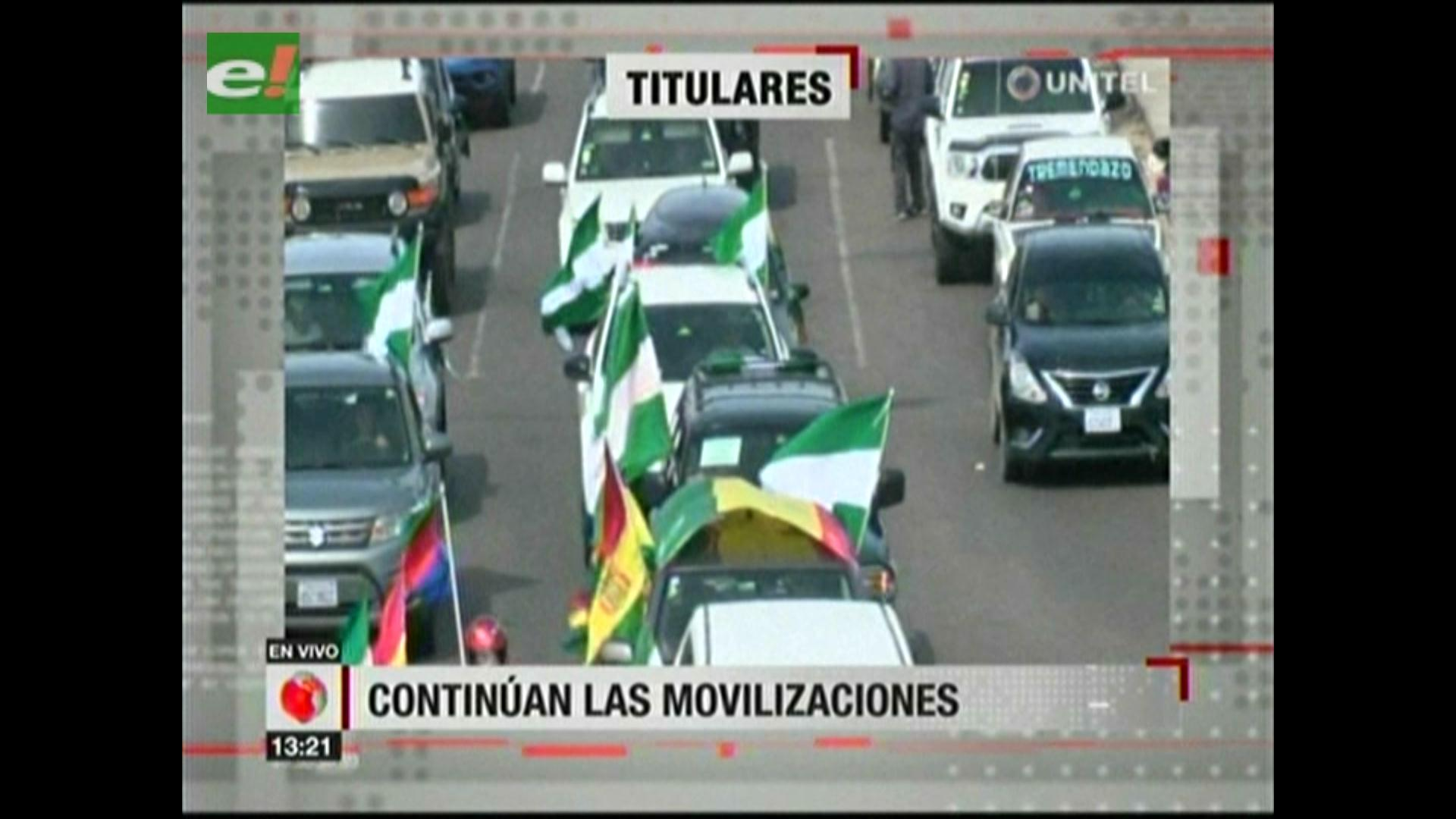 Video titulares de noticias de TV – Bolivia, mediodía del sábado 20 de enero de 2018