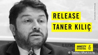 Twitter Amnesty International - Taner Kilic