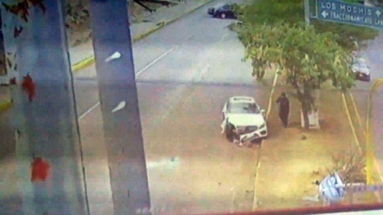 Los policías llegaron al lugar tres minutos después del último ataque, la víctima ya estaba muerta.