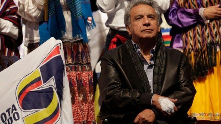 El presidente Lenín Moreno busca desterrar el legado de su antecesor (AP)