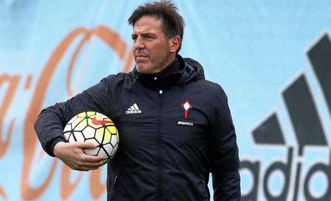 El entrenador argentino Eduardo Berrizo en un entrenamiento. Foto: Archivo TN.com