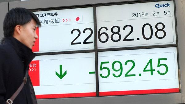 Dow Jones cierra con otra fuerte caída de más de mil puntos