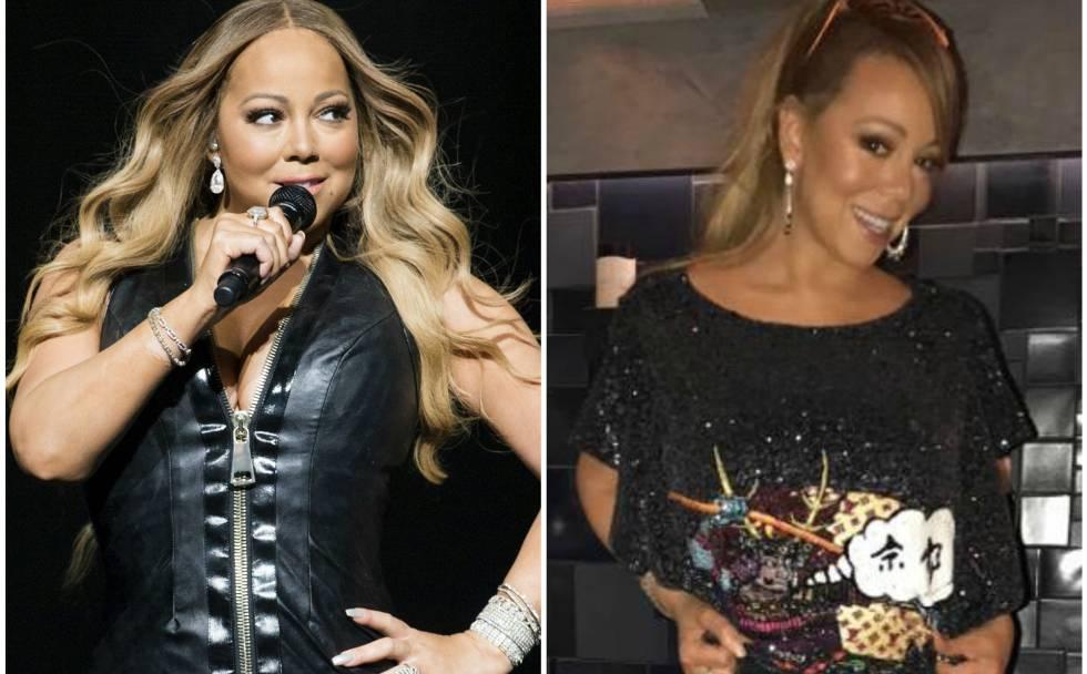 La cantante Mariah Carey.