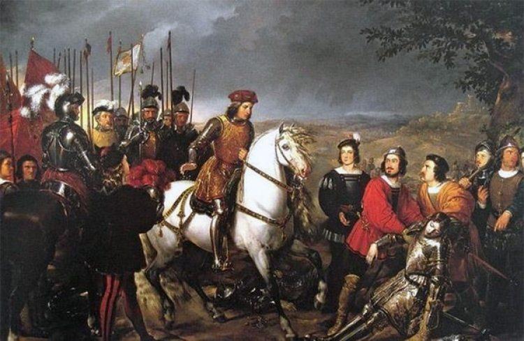 """""""Que se casen en aquel Reyno (de Nápoles) todos los más españoles que ser pudiere"""", le escribe el Rey a su Capitán"""