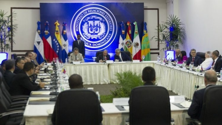 Las conversaciones entre la oposición y el régimen en Santo Domingo quedaron suspendidas
