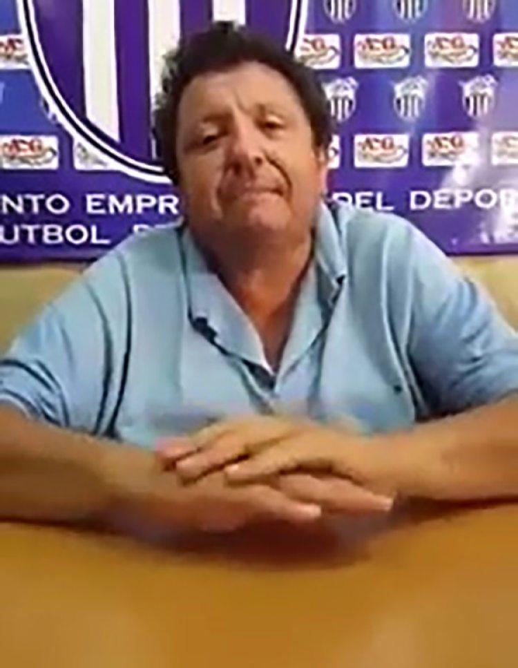 Antonio González, el presidente de Rubio Ñú de Luque implicado en el escándalo