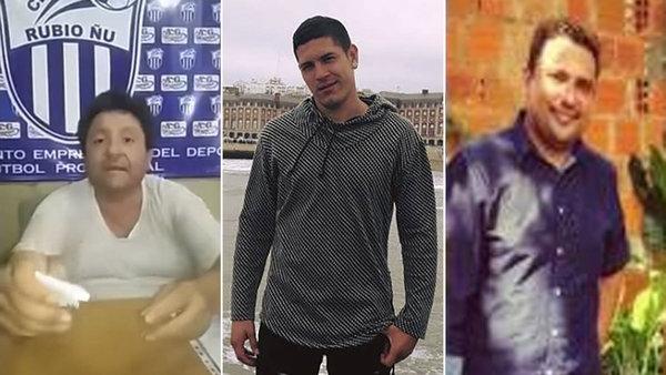 Escándalo: Filtran fotos íntimas de futbolista con presidente de club paraguayo
