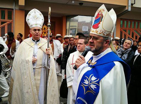El Obispo de la Diócesis de Oruro, Cristóbal Bialasic, pide por los damnificados por las lluvias