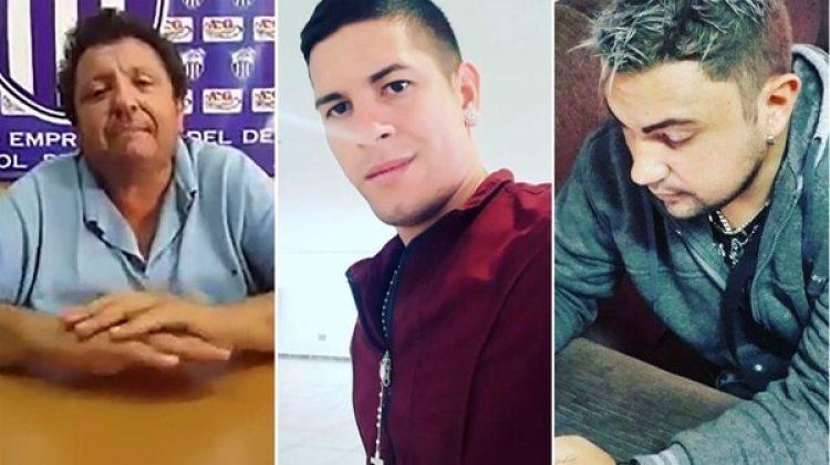 González, Caballero y Ozuna, los involucrados en el escándalos sexual