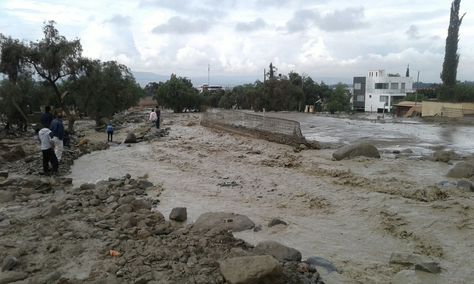 La mazamorra que afectó a varias casas en Tiquipaya y dejó al momento cuatro fallecidos