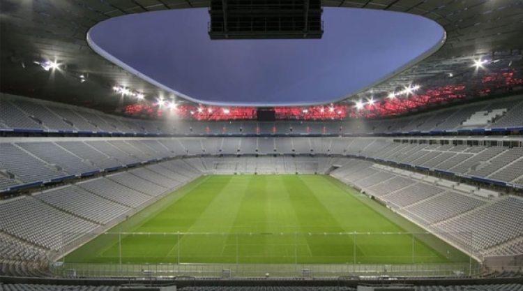 El estadio tiene un coste de 350.000.000 de euros (fcbayern.com)
