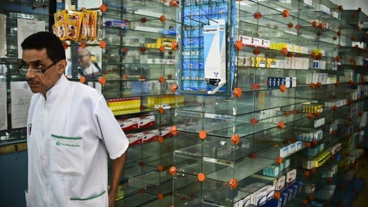 La ausencia de medicamentos y alimentos, otro sello de la actualidad en Venezuela (AFP)