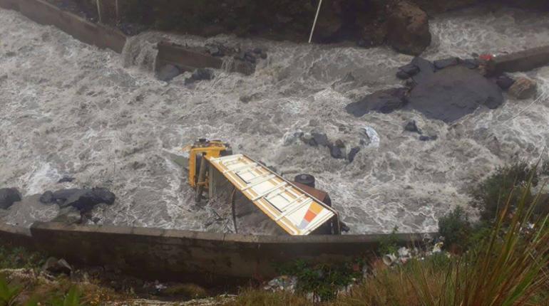Seis departamentos sufren por riadas y Senamhi pronostica lluvias ligeras