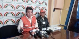 Alerta roja en 7 municipios del  país por los desastres naturales