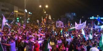 Concentración oficialista en Santa Cruz proclama a Evo Morales como candidato para 2019