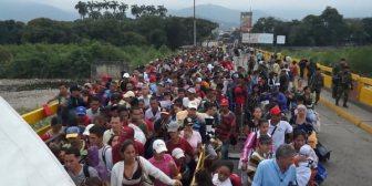 """La canciller colombiana viaja a Brasil para """"intercambiar experiencias"""" sobre el éxodo de venezolanos"""