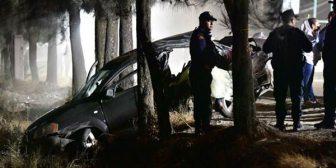 Un niño de 12 años condujo borracho un auto a 120 km/h y mató a otros cinco menores de edad