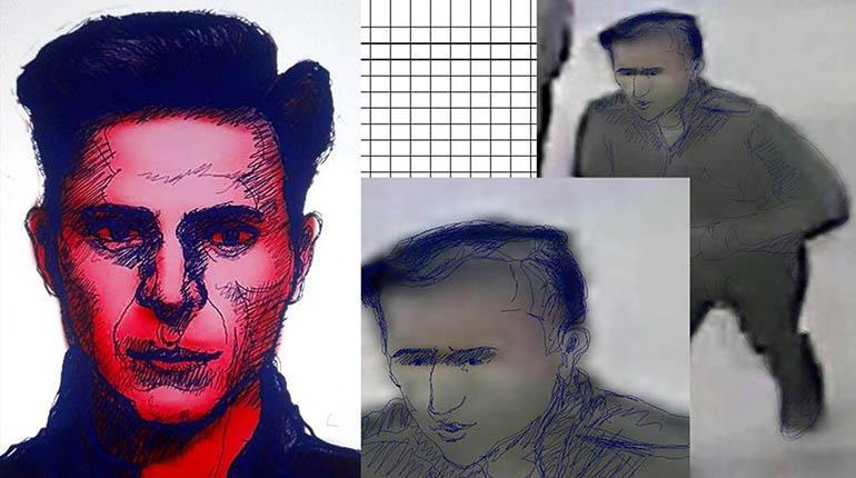 Divulgan retrato de sospechoso por explosión