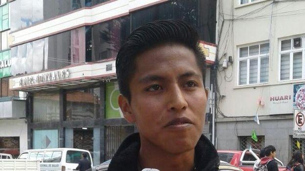 Se entrega el presunto autor de la segunda explosión en Oruro