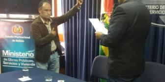 Bonifaz oficializa denuncia contra ministro Claros por discriminación