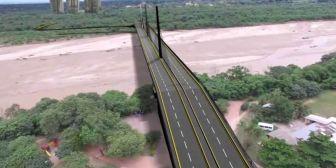 Esperan aprobación de ley para iniciar la construcción de nuevo puente en el Urubó