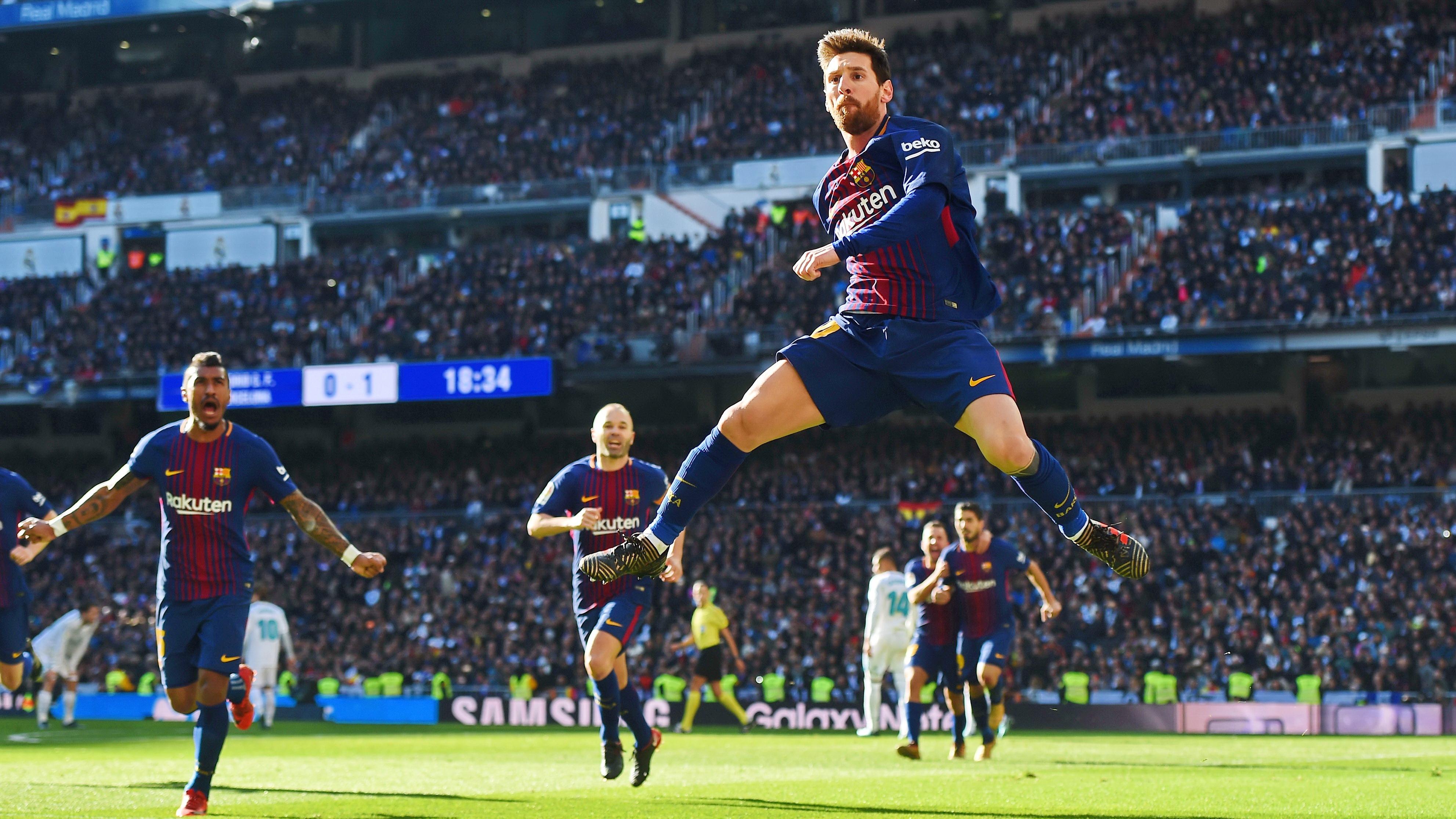 Messi entrenará en el Real Madrid