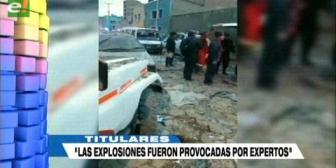 Video titulares de noticias de TV – Bolivia, noche del viernes 16 de febrero de 2018