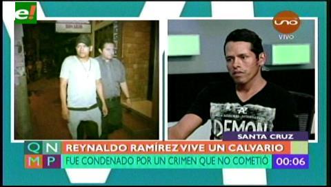 Reynaldo Ramirez está sin  trabajo a la espera de resarcimiento de daños causados por la justicia