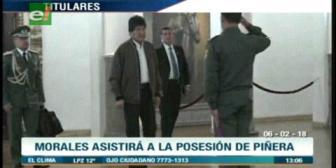 Video titulares de noticias de TV – Bolivia, mediodía del martes 6 de febrero de 2018