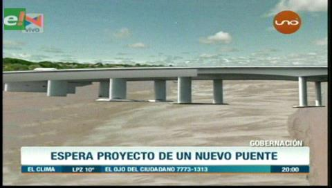 Gobernación cruceña ejecutará estudio para la refacción del puente Urubó y sus accesos