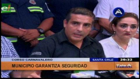 Santa Cruz: 2.000 funcionarios municipales harán controles en Carnaval