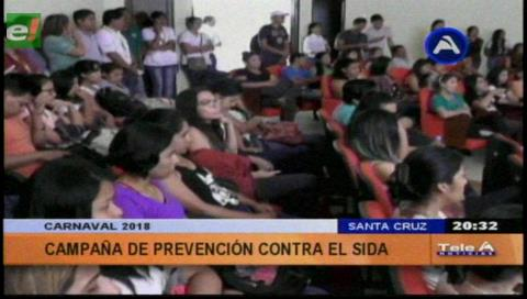 Capacitan a estudiantes en prevención del VIH/Sida en Carnaval