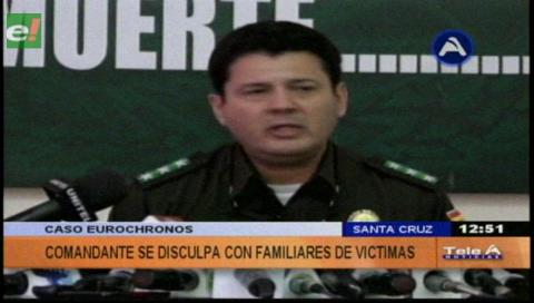 Comandante Siles reitera disculpas a familia de Ana Lorena; pide ampliar el peritaje