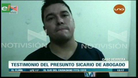 """Expolicía paraguayo: """"Yo no maté al abogado, que me hagan peritaje"""""""