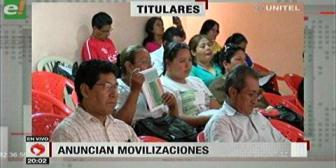 Video titulares de noticias de TV – Bolivia, noche del miércoles 14 de febrero de 2018