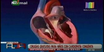 Campaña anual: Impulsan cirugías cardíacas para niños