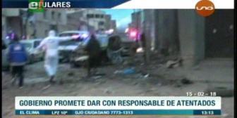 Video titulares de noticias de TV – Bolivia, mediodía del jueves 15 de febrero de 2018